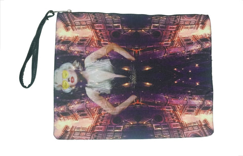Fear & Loathing in New York - Canvas Wristlet