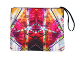 Kaleidoscope - Canvas Wristlet