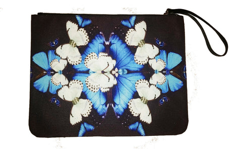 Iron Butterfly - Canvas Wristlet