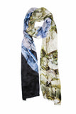 Kryptonite-Silk Charmeuse Scarf