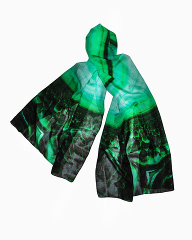 Malificent Scarf-Silk Chiffon
