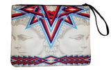 Queen of the Aztec Desert - Canvas Wristlet