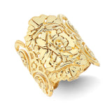 Gold Lace Filigree Ring