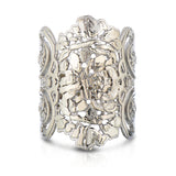 Silver Lace Filigree Ring