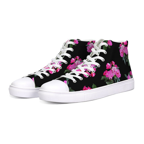 Roses for Days Hightop Canvas Shoe