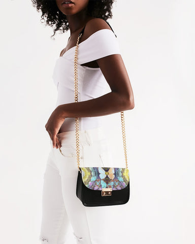 Big Blingy Starry Night Small Shoulder Bag