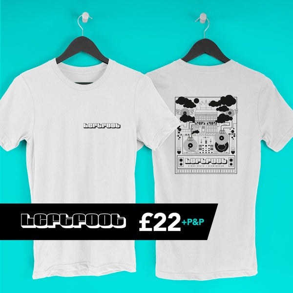 Leftfoot T Shirt - White