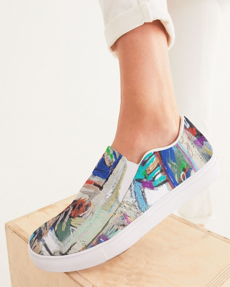 Reconstruction of Change Women's Slip-On Canvas Shoe