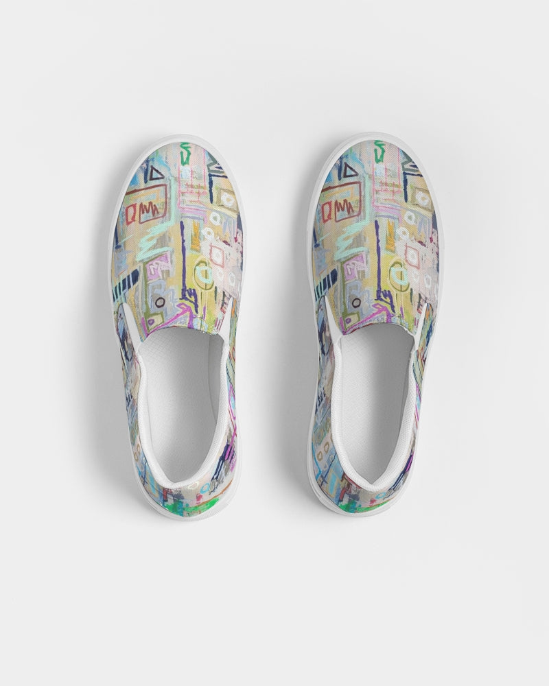 Untitled Series - 1 Remembering Spring Men's Slip-On Canvas Shoe