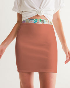Untitled Series - Remembering Spring - Japonica Women's Mini Skirt