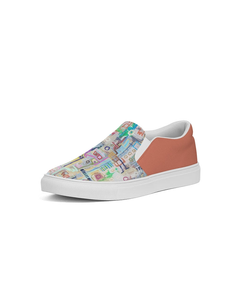 Untitled Series - Remembering Spring - Japonica Men's Slip-On Canvas Shoe