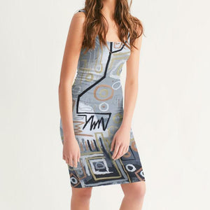 Untitled Series - Metallica Women's Midi Bodycon Dress