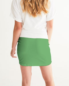 The Reconstruction of Change - Fern Women's Mini Skirt