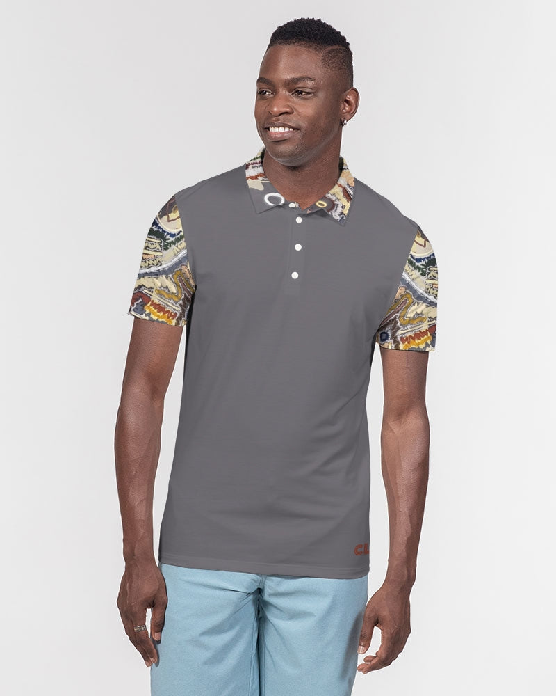 Energy Series - Untitled 2 Men's Slim Fit Short Sleeve Polo