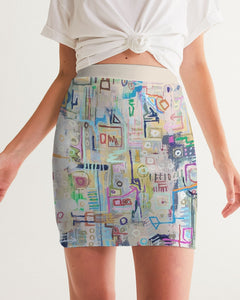 Untitled Series - 1 Remembering Spring Women's Mini Skirt