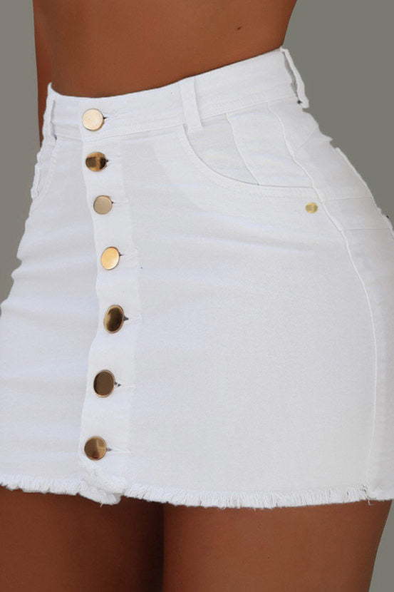 Inge Eden White Skirt