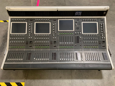 Used Digico D5 Live Console with Digirack Stage Rack