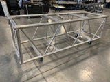 "Used Pre-Rig Double Hung Plated Truss 26"" x 30"" x 7'-7"" - Silver"