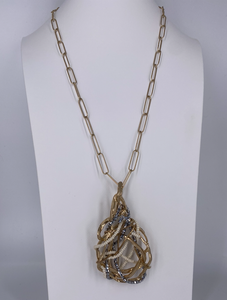 Paperclip Nest Necklace