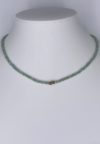 Double Ball Beaded Choker