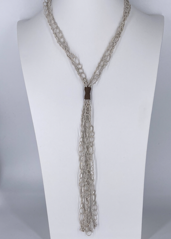 Multi Strand Y Necklace
