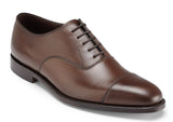 LOAKE Aldwych Dark Brown Leather
