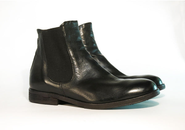 Brando by AS98 ASPRO Black Chelsea Boot - Made in ITALY