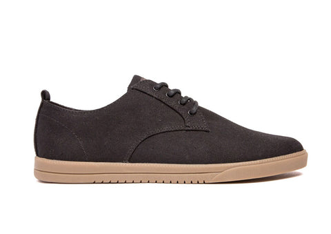 Clae Ellington Black Waxed Canvas.