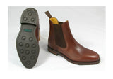 LOAKE Blenheim Brown Leather Chelsea Boot