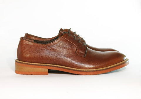 Gingers for Gentlemen BRUNSWICK tan leather derby