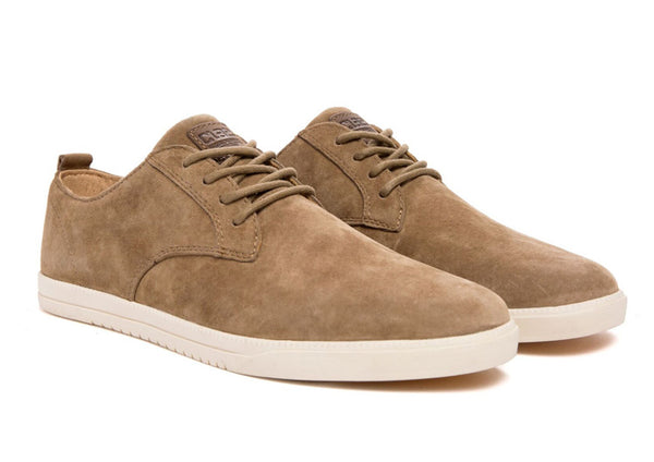 Clae Ellington Butterscotch suede
