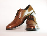 Gingers for Gentlemen CANNE Tan leather lace up