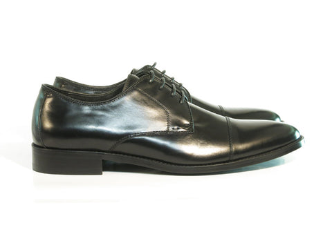 Gingers for Gentlemen CANNE 2 black leather derby