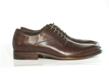 Gingers for Gentlemen CAPRI 3 brown leather derby.