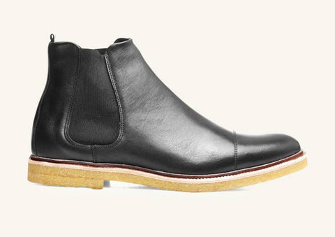 Royal Republiq CAST creep Chelsea Boot Black leather