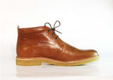 Royal Republiq CAST creep midcut leather Tan, made in Portugal