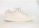 Gingers for Gentlemen CHASE white leather sneaker