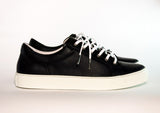 Gingers for Gentlemen CHASE black leather sneaker