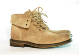 Gingers for Gentlemen CHEVY  Beige suede boot