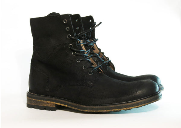 Gingers for Gentlemen CHEVY Black Suede Boot