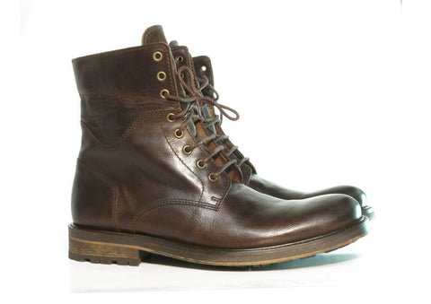 Gingers for Gentlemen CHEVY smooth brown leather boot, made in Portugal