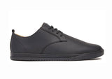 CLAE Ellington Black Coated Leather