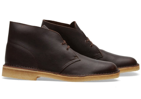 Clarks Originals Desert Boot Brown tumbled leather