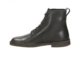 Clarks Desert MALI smooth black leather