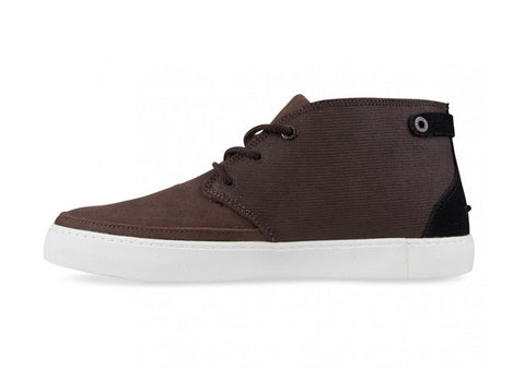 Lacoste Clavel Dark Brown Leather Chukka