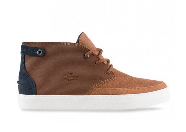 Lacoste Clavel Tan Leather Chukka