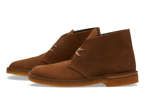 Clarks Originals Desert Boot Cola Suede
