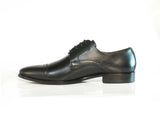 Gingers for Gentlemen COOPER black leather derby, made in Brazil