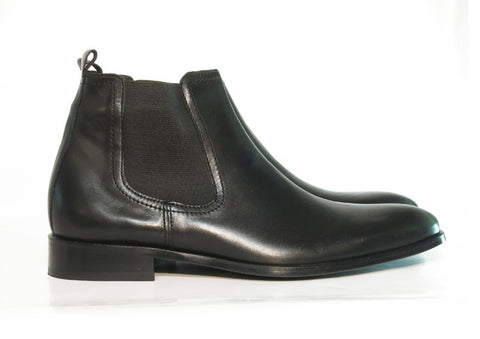Gingers for Gentlemen DILLON black leather chelsea boot.