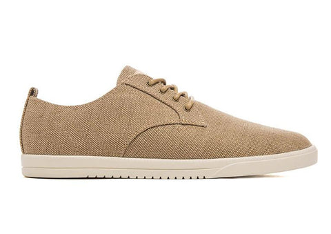 CLAE Ellington Tan Hemp Canvas